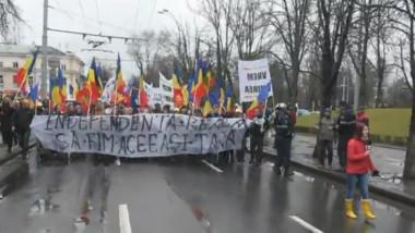 VIDEO. Marş pentru unire la Chişinău