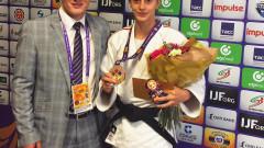 Larisa Florian St Petersburg judo1