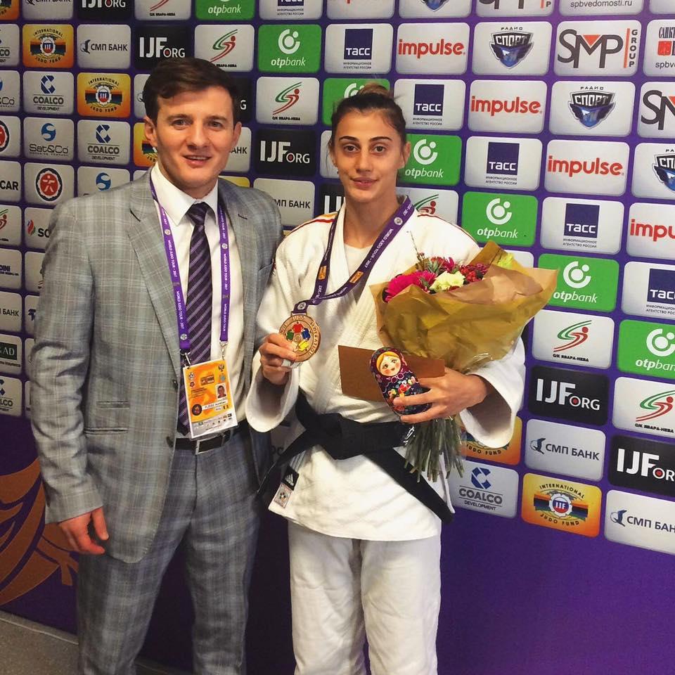 JUDO. Bronz pentru oradeanca Larisa Florian, la Judo World Masters din Rusia