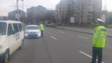 actiune oglinda Politia Rutiera