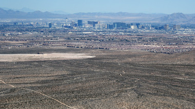 Aerial Views Of Las Vegas