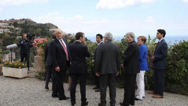 G7 Leaders Meet In Sicily