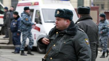 politie rusia moscova