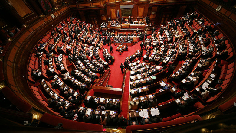 Berlusconi Government Receives Backing from Italian Parliament