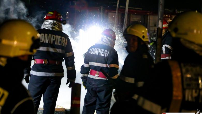 incendiu pompieri ISU FB 2