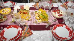 masa de craciun mancare salata boeuf