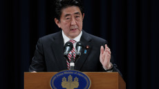 Japanese Prime Minister Shinzo Abe Press Conference