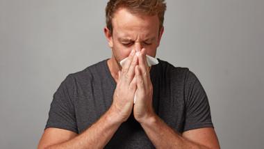 stranut barbat raceala gripa