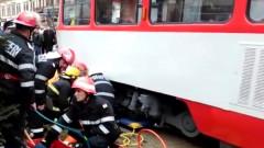 accident tramvai arad