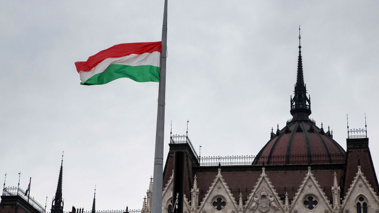Demonstrators Protest Against Orban Government