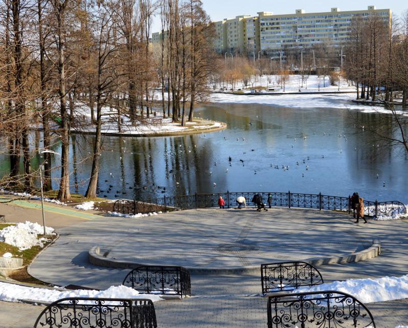 parc bucuresti vreme meteo ior soare iarna