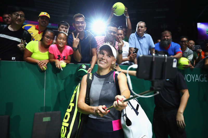 BNP Paribas WTA Finals Singapore presented by SC Global - Day 4