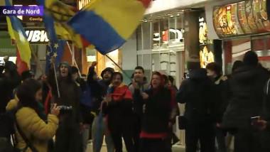 manifestanti din tara