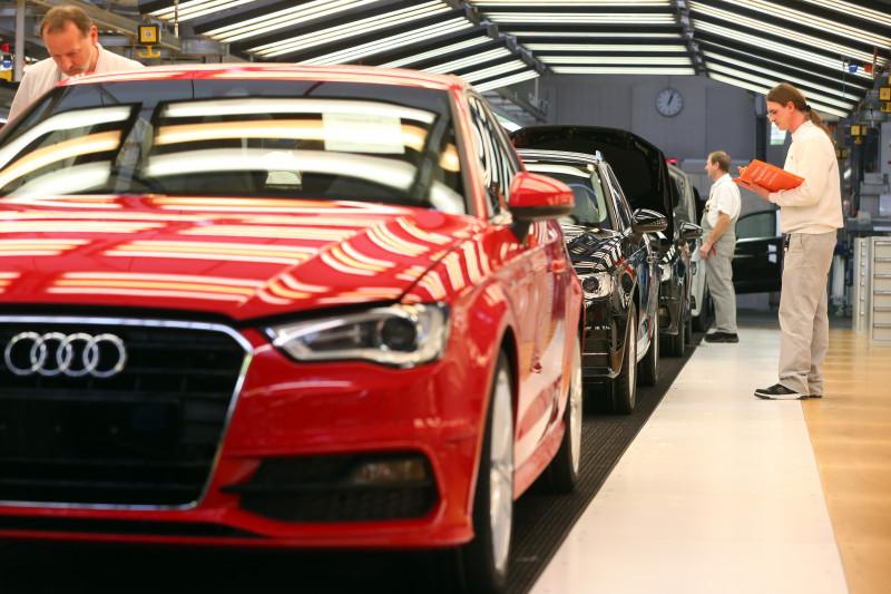 New Audi A3 Production