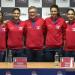 echipa tenis fedcup 2018 - Ana Bogdan, Sorana Cirstea, Florin Segarsceanu, Irina Begu, Raluca Olaru
