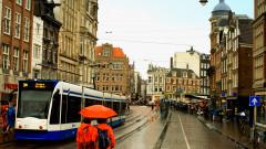 amsterdam olanda ploaie  turism vacante