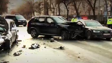 masini lovite accident dacia