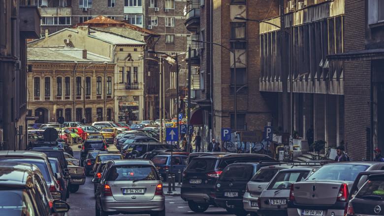 masini trafic bucuresti poluare