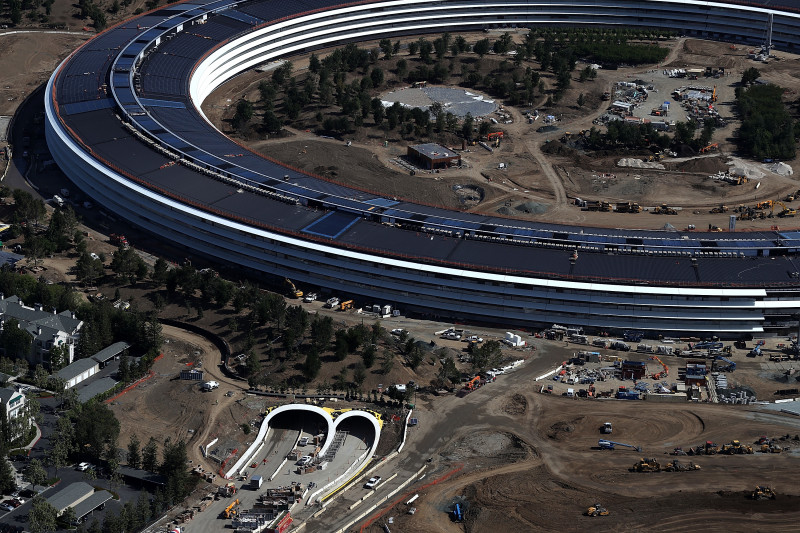 Apple's New Headquarters Near Completion