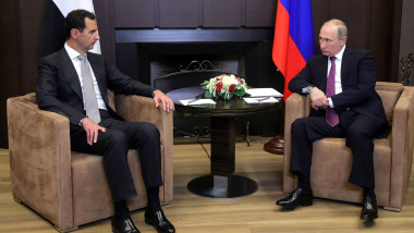 convorbiri putin assad - kremlin