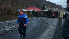 accident camion cluj