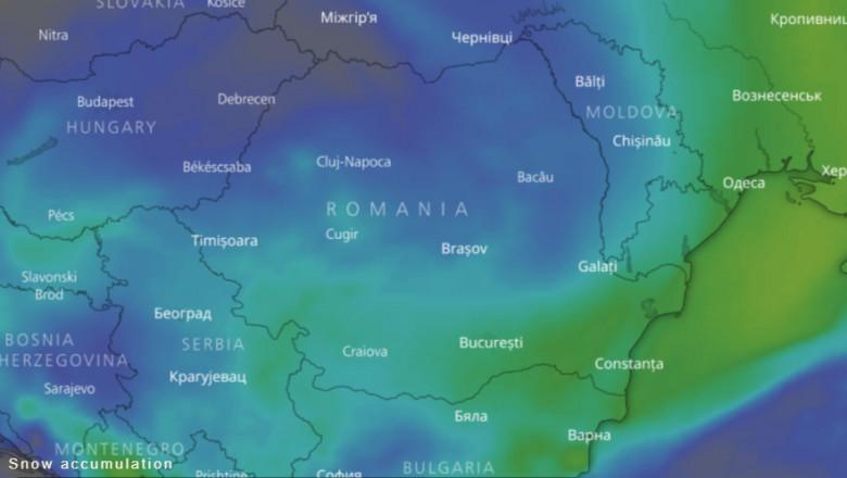 Harta Interactivă A Vremii și Prognoza Meteo Pentru Următoarele 10
