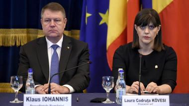Laura Codruta Kovesi Klaus Iohannis bilant dna agerpres_8357770