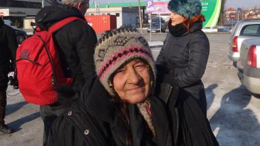 oamenii strazii frig