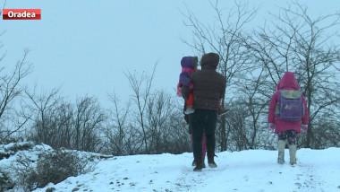 elevi iarna