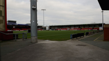 Views Of Crewe Alexandra Football Ground