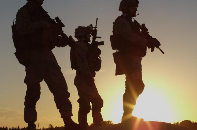 armata militari getty