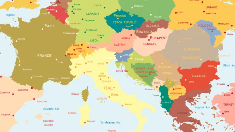 harta europa