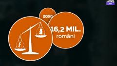 populatia romaniei 2050