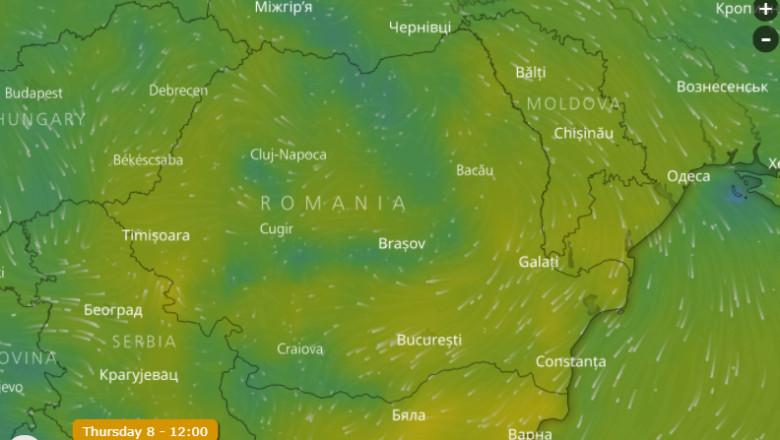 Meteo Vremea Se Incălzește Neobișnuit De Mult In Weekend Harta