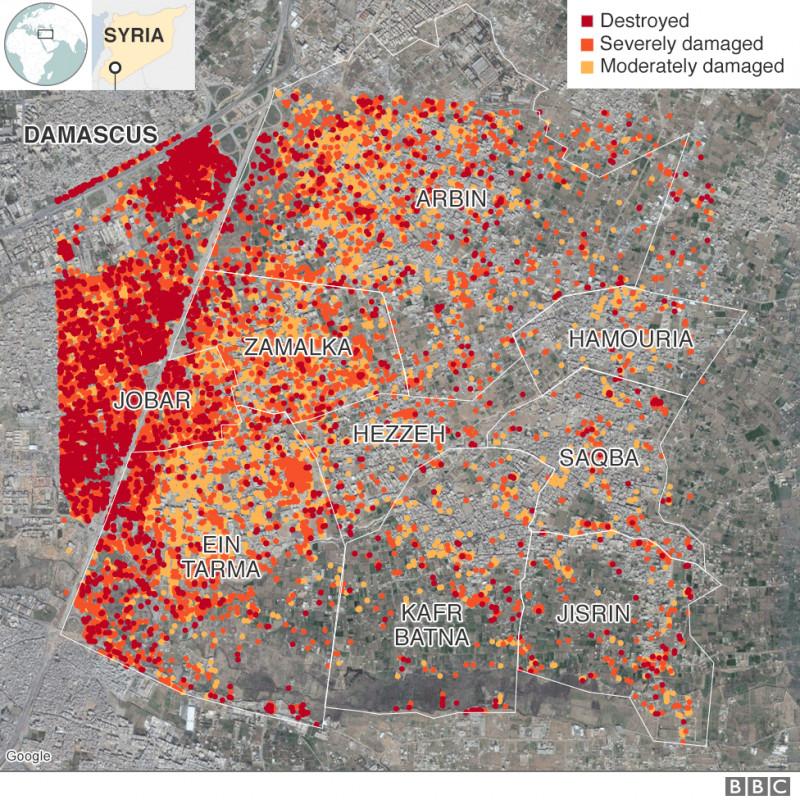 Hartă Imaginea Din Satelit Care Spune Totul Despre Masacrul Din