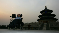British Scientist Stephen Hawking Visits China