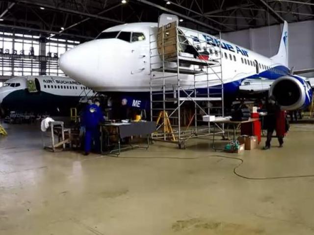 Reportaj Digi24: Cum se repară avioanele