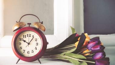 ceas flori schimbare ora de vara