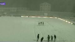 teren botosani ninsoare teren fotbal