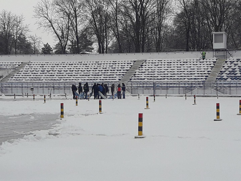 Meciul CSM Poli Iaşi - Astra Giurgiu a fost amanat