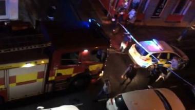 captura video accident club londra
