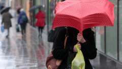 Wind And Rain Hit The UK