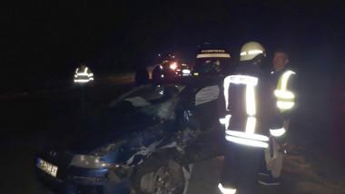 accident-tir-masini-rasturnate-Lugoj-4