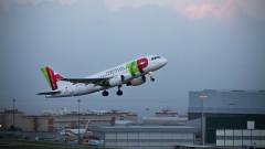avion tap portugalia