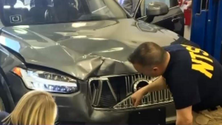 accident masina autonoma uber