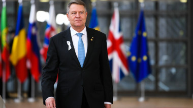iohannis summit ue steaguri - presidency