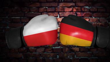 polonia vs germania steag drapel