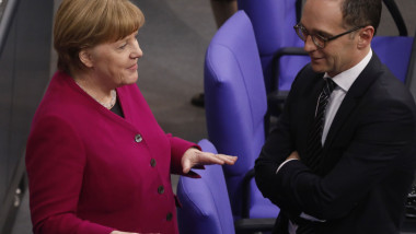 Merkel Gives First Government Declaration Of New Government