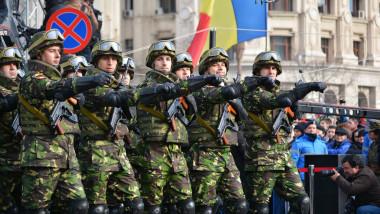Parada militara 2015, Piata Constitutiei - Fortele Terestre Romane (4)