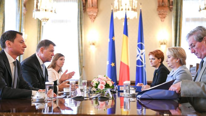 intalnire iohannis dancila olguta vasilescu presidency ro